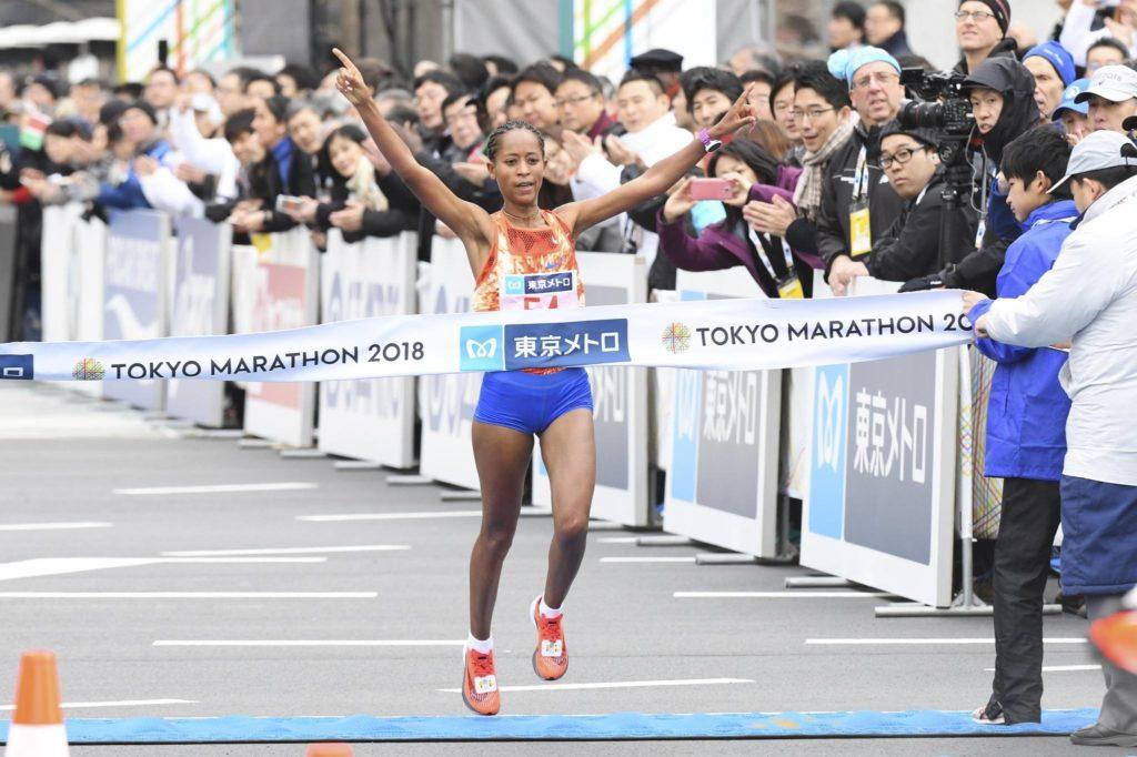 Birhane Dibaba wygrywa Tokio Maraton 2018