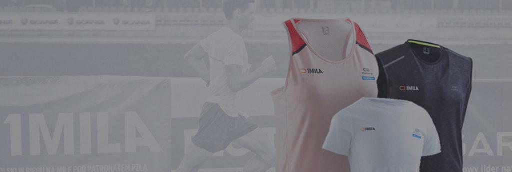 Koszulki biegu 1 mila