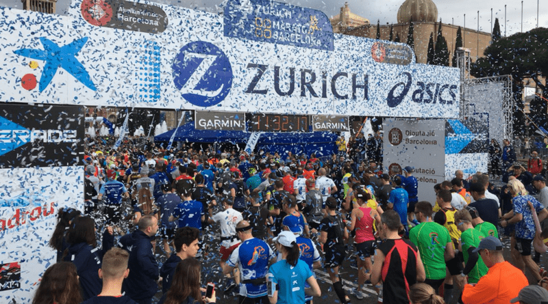Maraton w Barcelonie