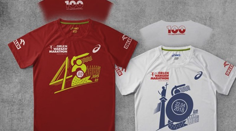 Koszulki ORLEN Warsaw Marathon