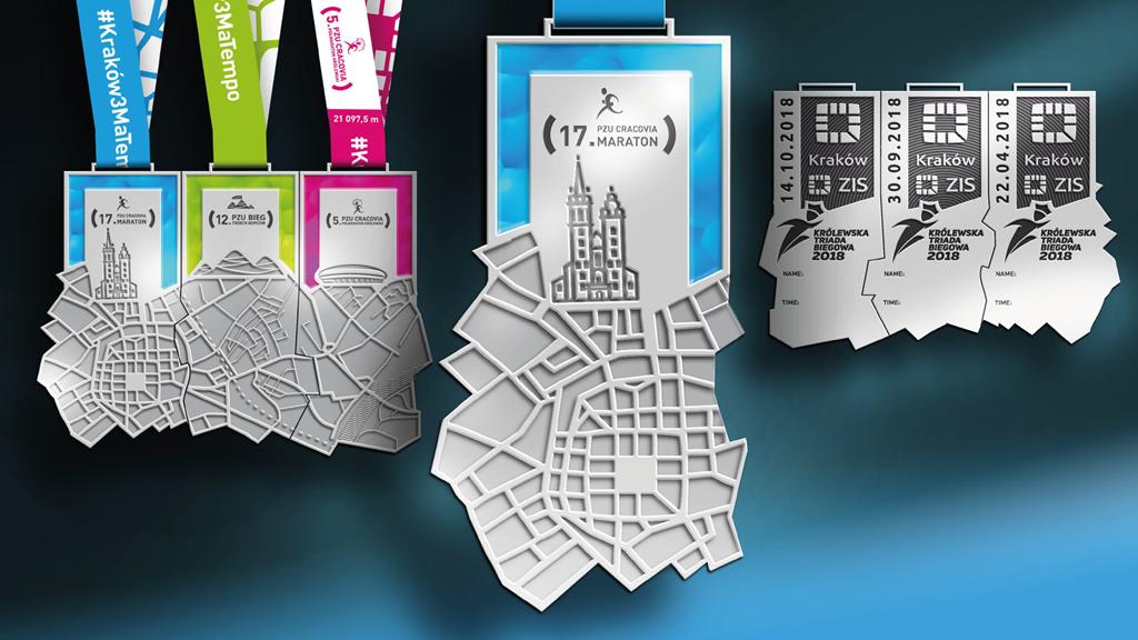 medal Cracovia Maraton
