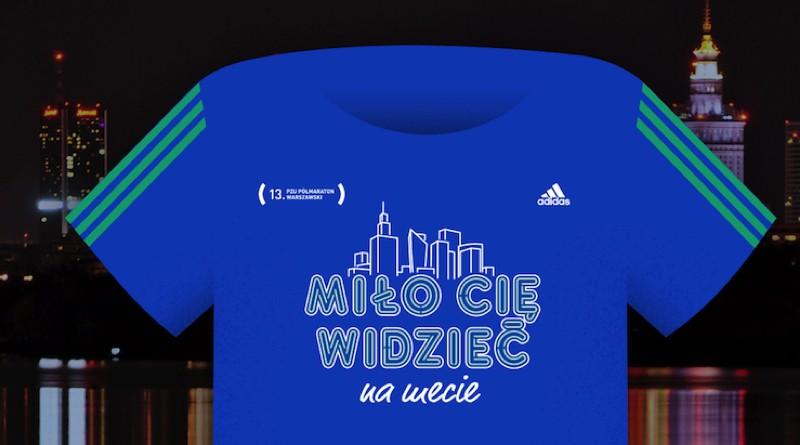 de9c3f36f5d7a2 Świecące koszulki 13. PZU Półmaratonu Warszawskiego - Biegowe.pl ...