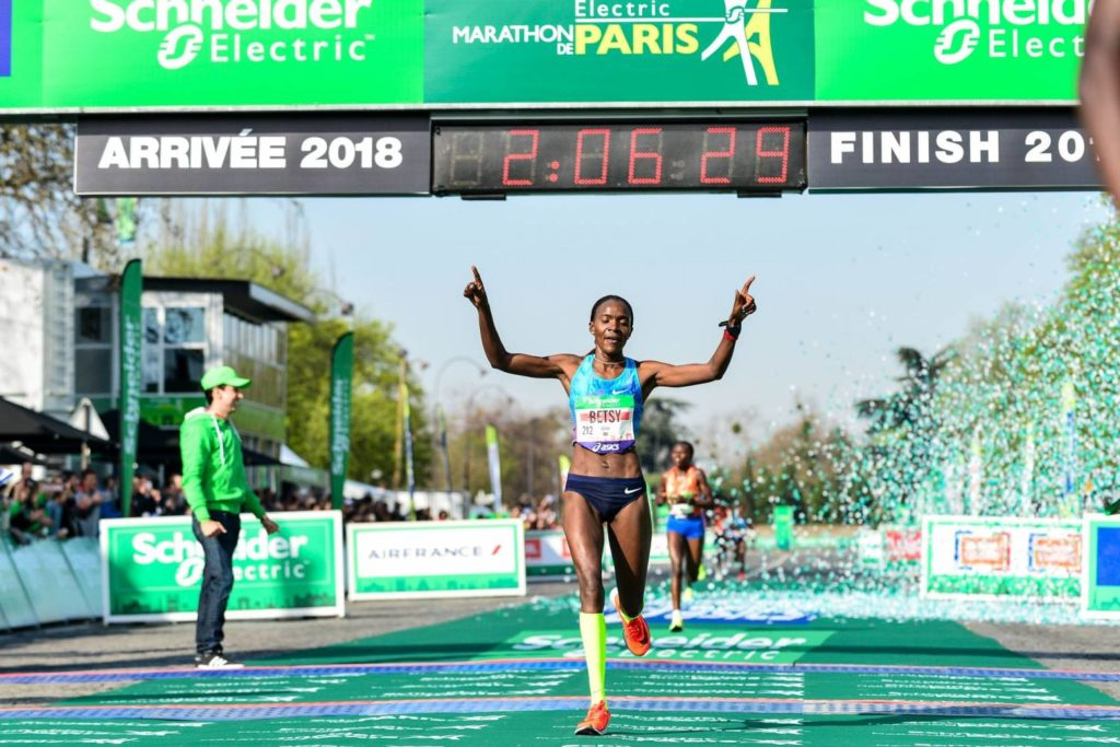 Maraton w Paryżu