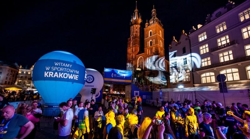 Bieg Nocny w Krakowie