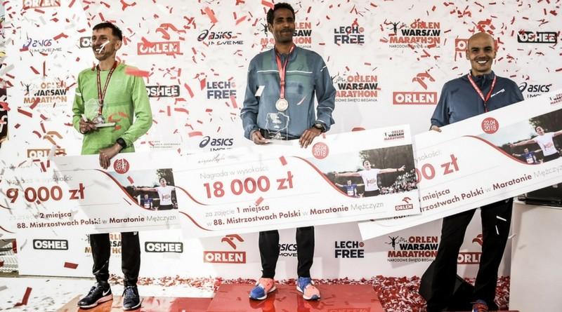 Yared Shegumo mistrzem Polski w maratonie