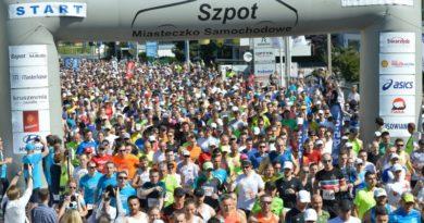 Bieg 10 km Szpot Swarzędz
