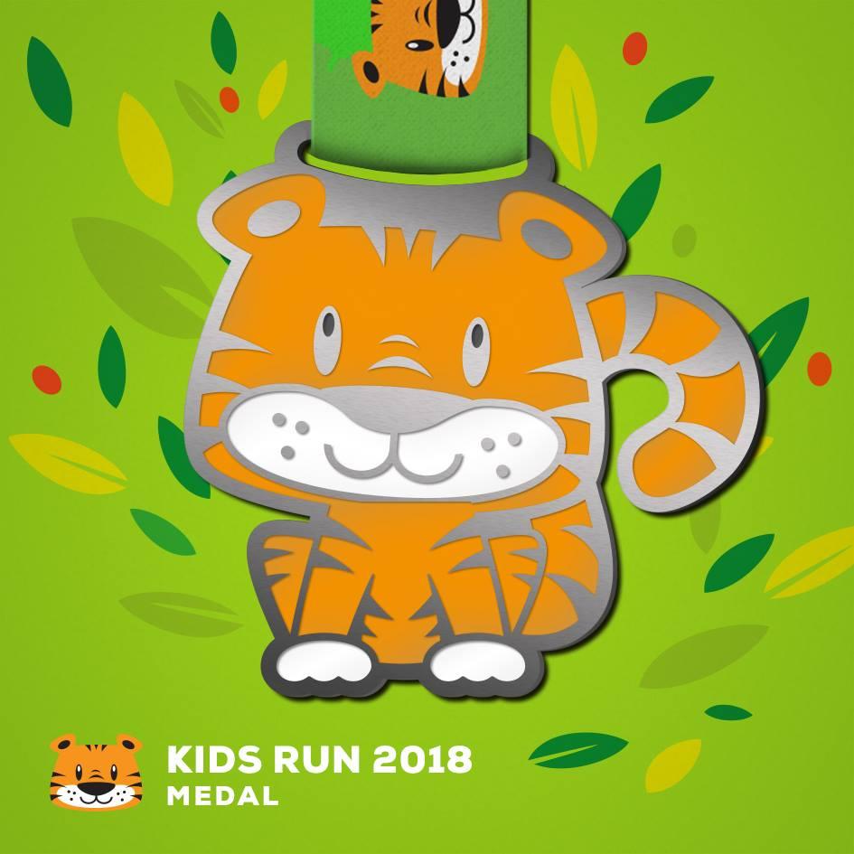 Kids Run - medal