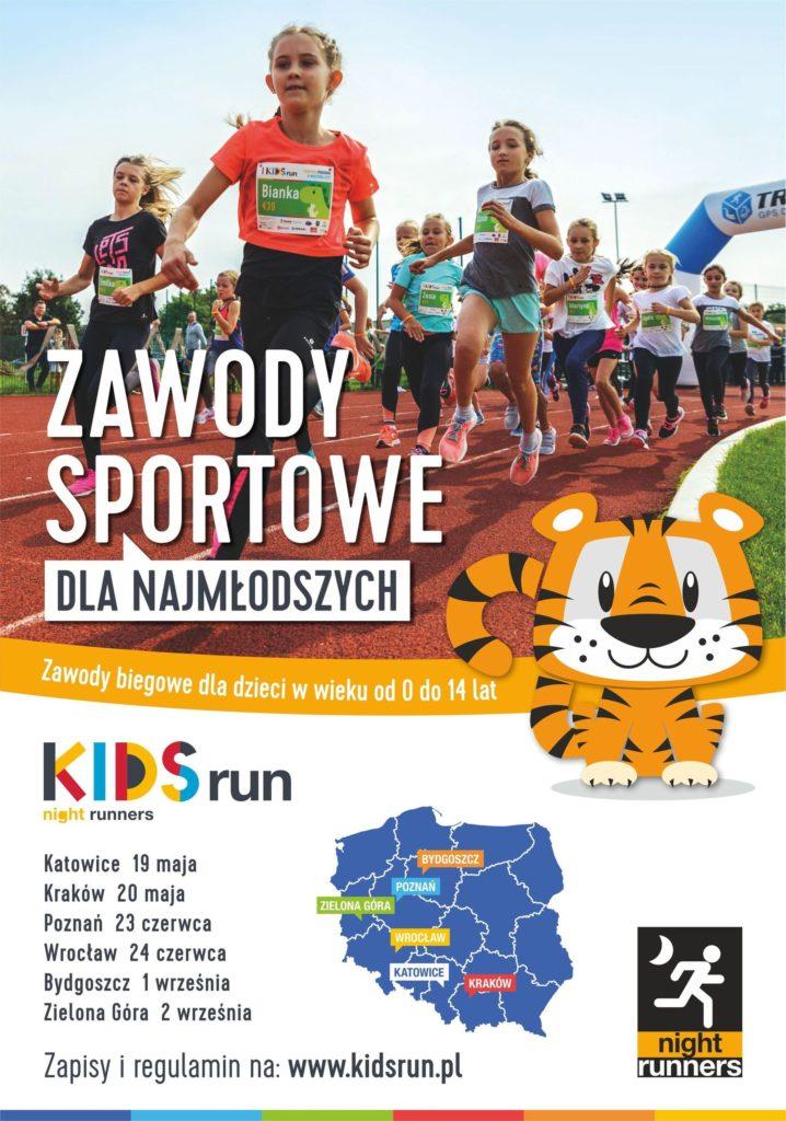 Kids Run - plakat
