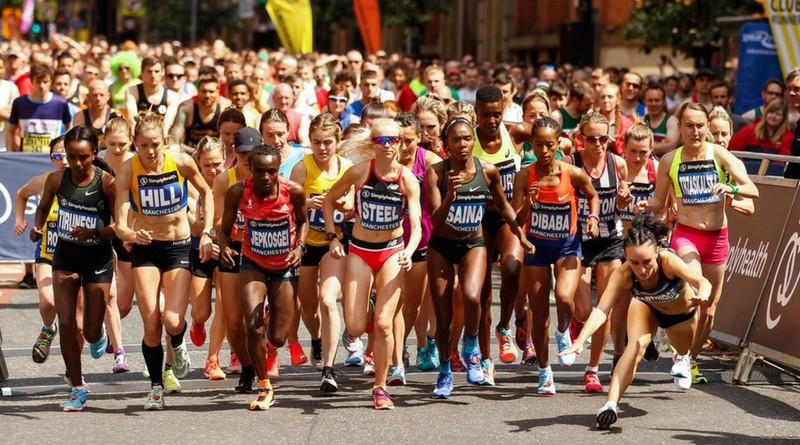 T. Dibaba i Mo Farah najszybsi w Manchesterze. Trzaskalska ósma