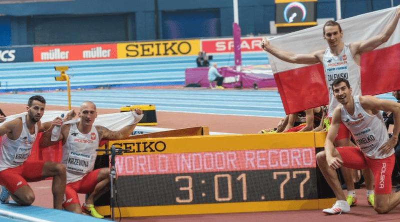 Polski rekord świata 4x400 metrów