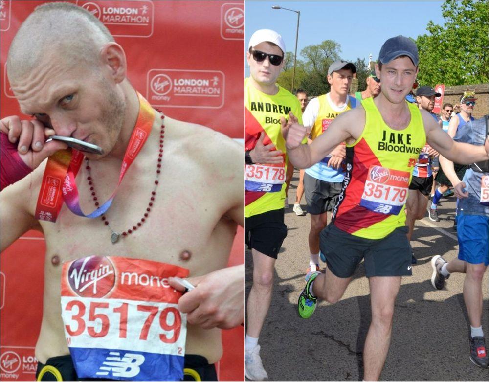 oszukał na londyńskim maratonie
