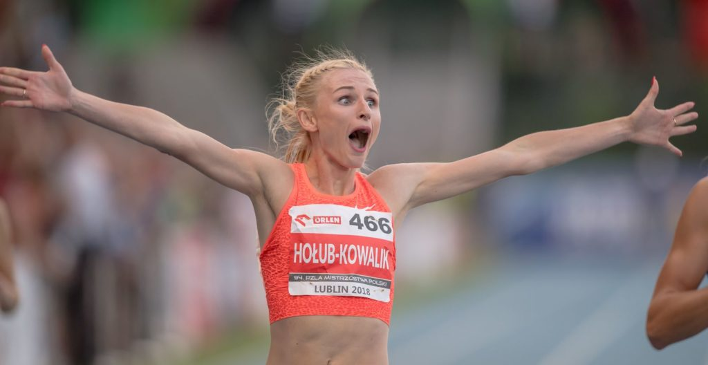 94 Mistrzostwa Polski Seniorow. Lekkoatletyka. Lublin 2018.07.21