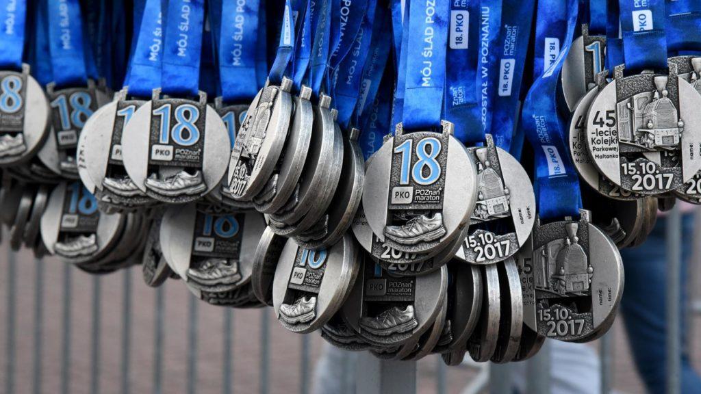 Medal 18. Poznań Maraton