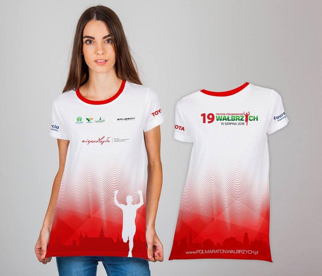 Koszulka 19. Toyota Półmaraton Wałbrzych