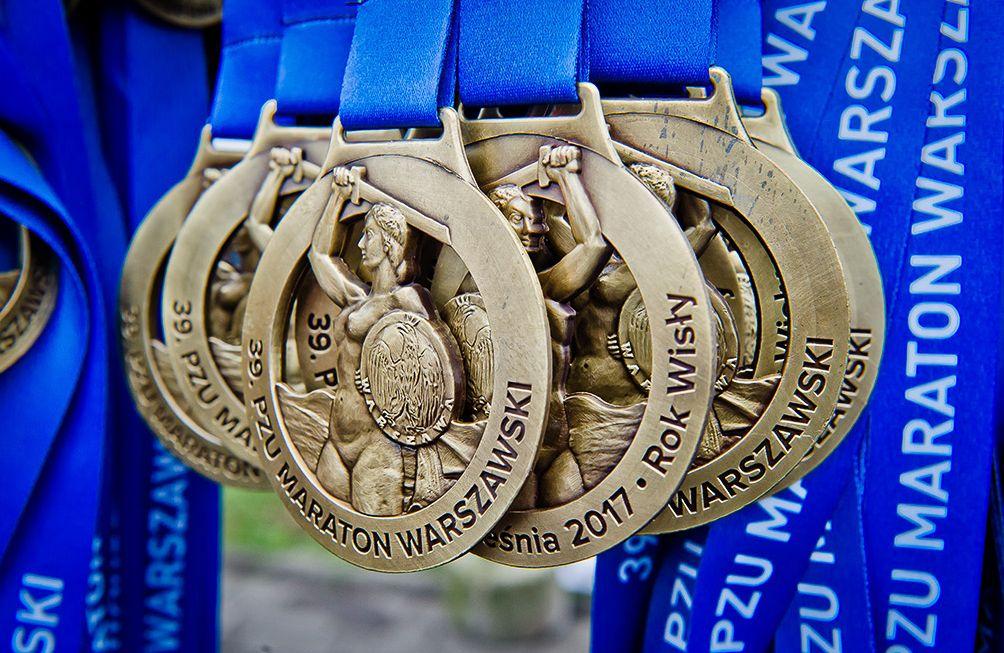 Medal Maratonu Warszawskiego
