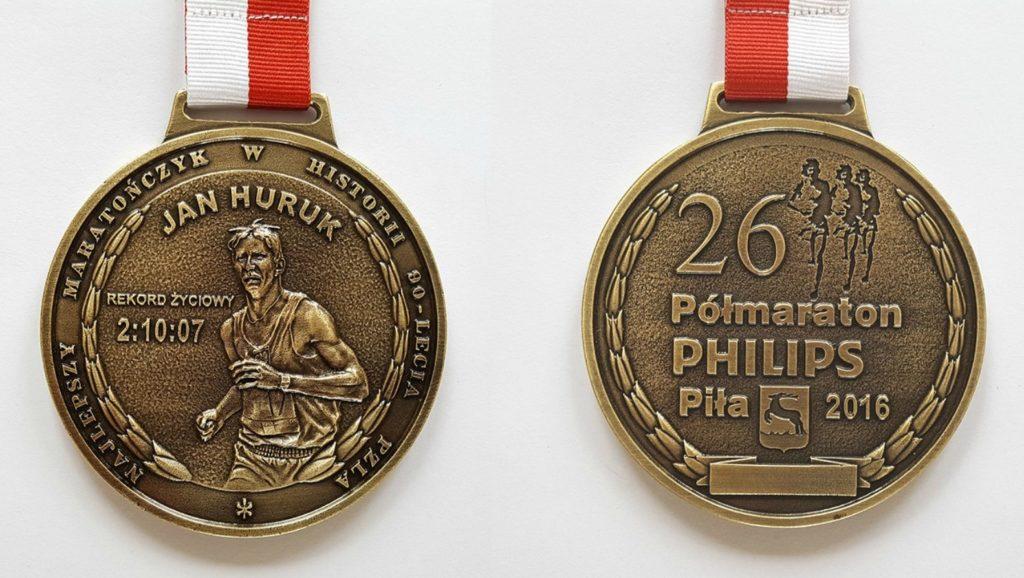 Medal Półmaraton PHILIPS Piła