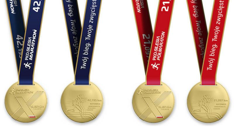 Medal PKO Silesia Marathon