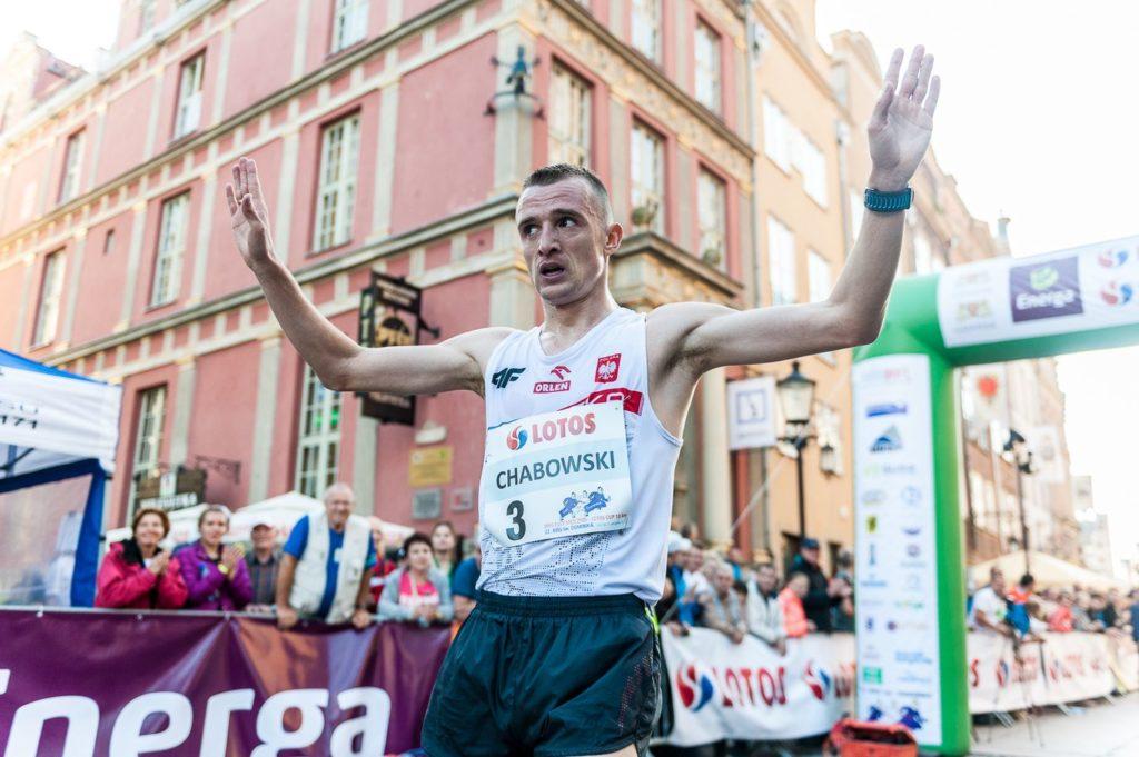 Marcin Chabowski - Mistrzostwa Polski na 10 km 2015