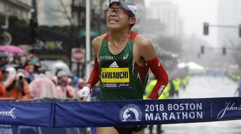 Boston Marathon - Yuki Kawauchi
