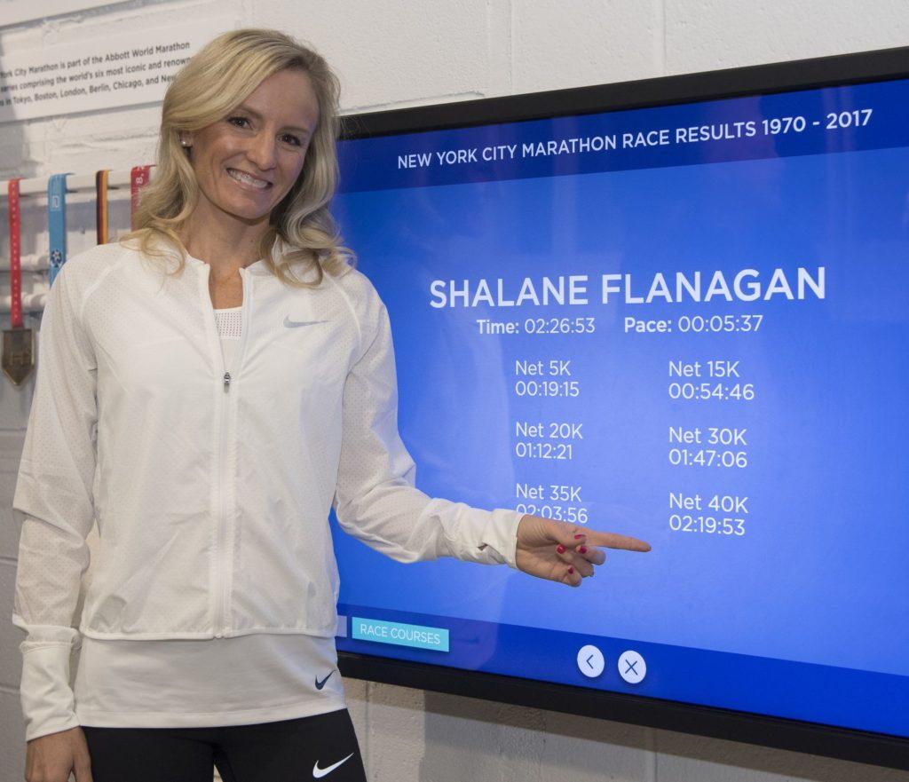 Shalane Flanagan - maraton w Nowym Jorku