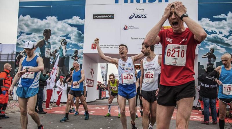 Na którym polskim maratonie biegacze najczęściej łamią 3 godziny?