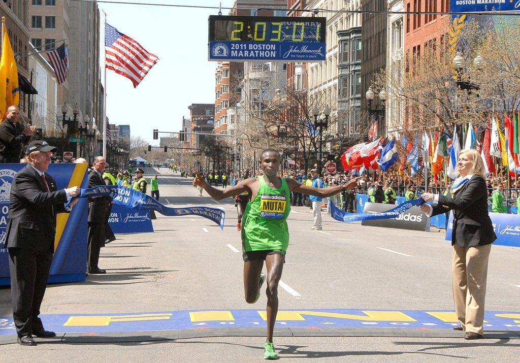 Geoffrey Mutai - Boston Marathon 2011