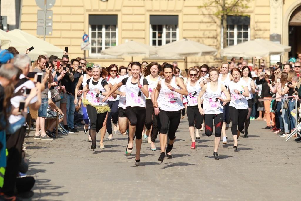 Cracovia Maraton - Bieg w Szpilkach
