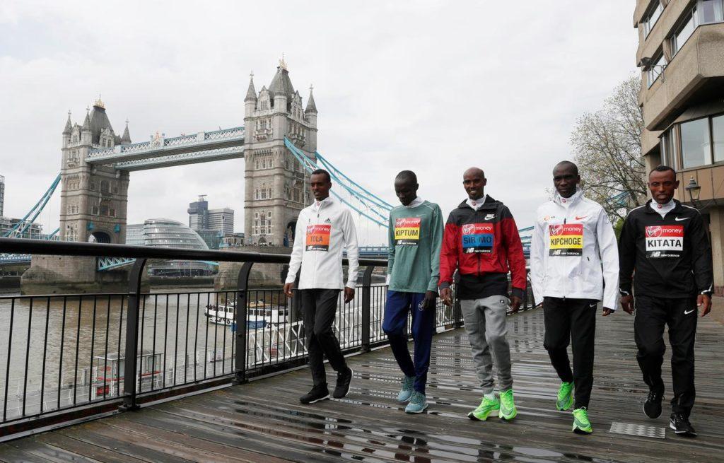 maraton w Londynie