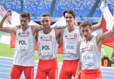 Polska sztafeta 4×400 metrów z brązowym medalem Uniwersjady!
