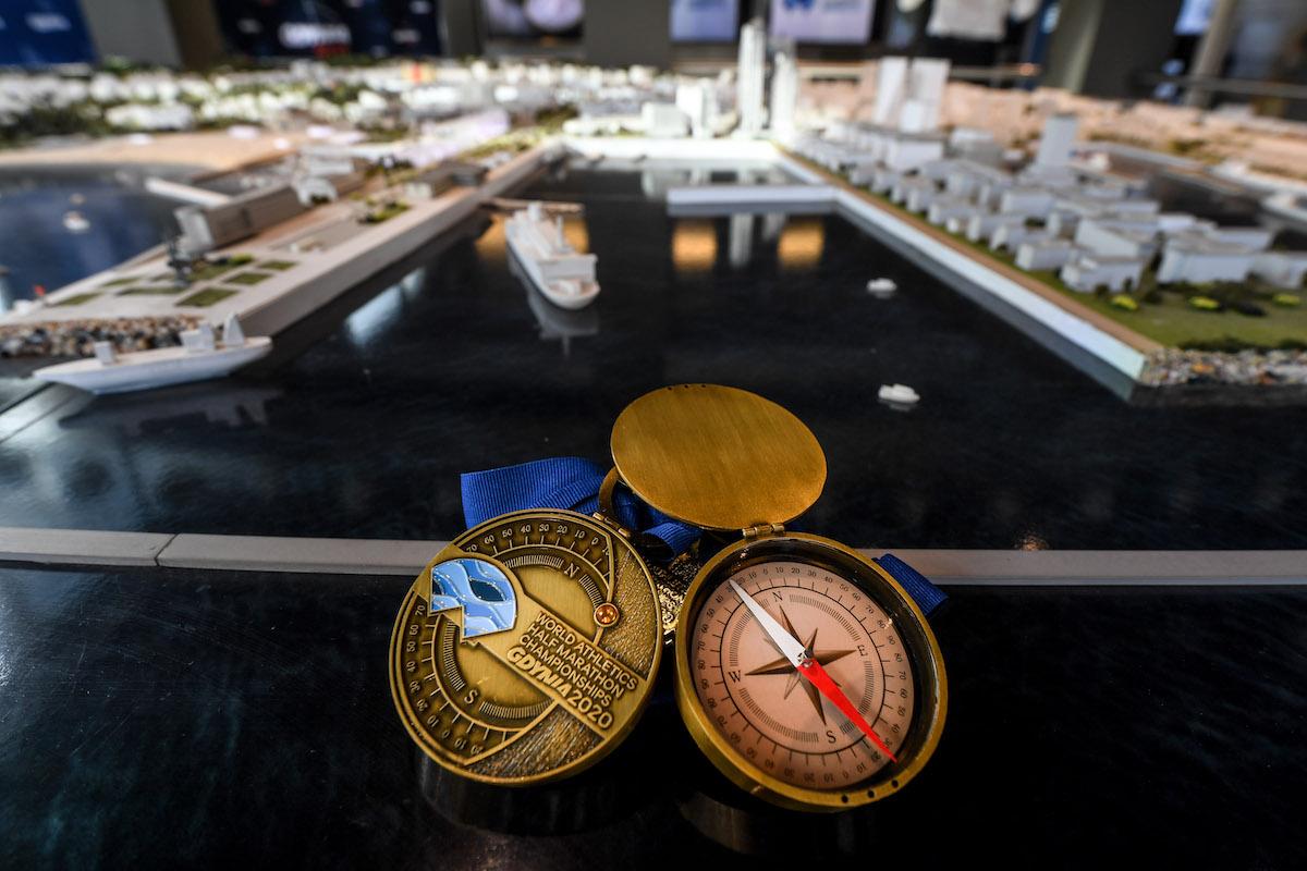 Gdynia 2020 ma medal, jakiego jeszcze nie było Biegowe.pl