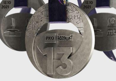 Oto medal 13. PKO Poznań Półmaratonu. Upamiętni ważną rocznicę